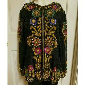 Rare vintage sequin blazer